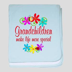 Special Grandchildren baby blanket