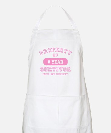 Property Of Survivor Personalized Apron