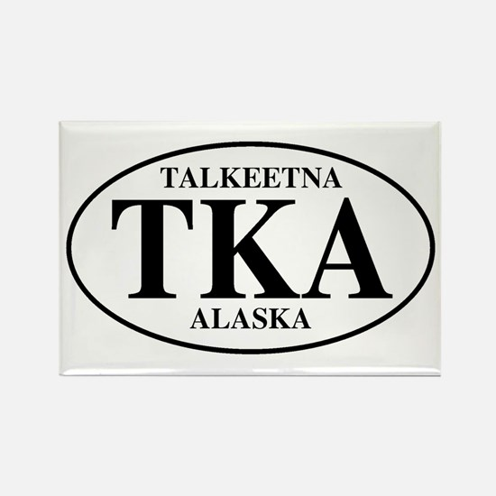Talkeetna Rectangle Magnet