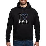 I Love (heart) GMOs Hoodie