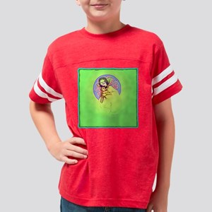 elf-mother--child(green)-b Youth Football Shirt