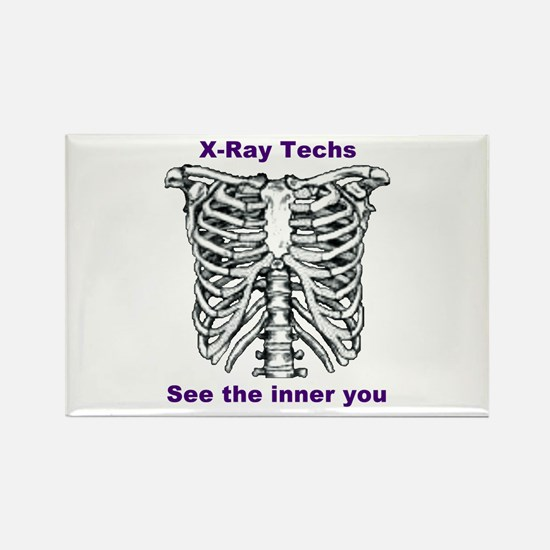 X-Ray Inner You Rectangle Magnet
