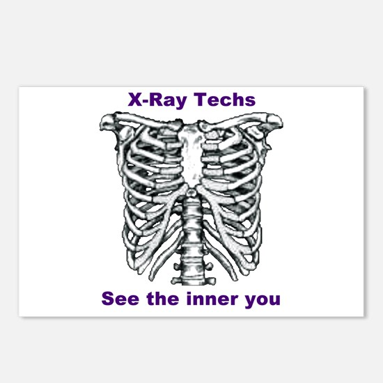 X-Ray Inner You Postcards (Package of 8)