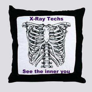 X-Ray Inner You Throw Pillow