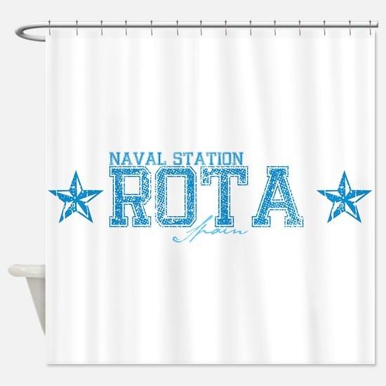 NS Rota Spain Shower Curtain