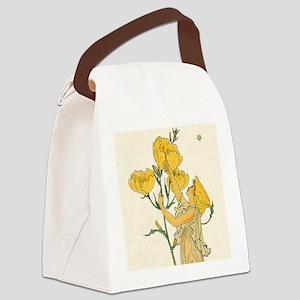 Evening Primrose by Walter Crane Canvas Lunch Bag