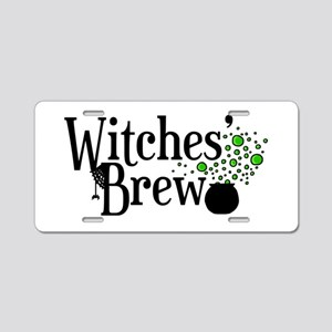 'Witches' Brew' Aluminum License Plate