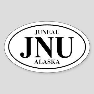 Juneau Oval Sticker