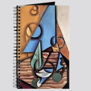 Juan Gris - Bottle and Glass on a Table Journal