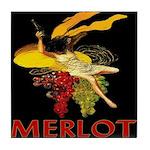 Merlot Tile Coaster