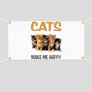 HAPPY CATS Banner