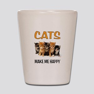 HAPPY CATS Shot Glass