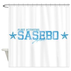 Fa Sasebo Japan Shower Curtains