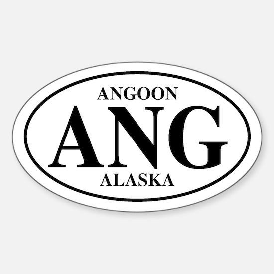 Angoon Oval Decal