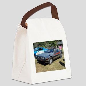 Delorean Canvas Lunch Bag