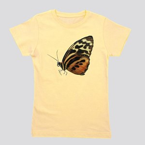Orange butterfly photo Girl's Tee