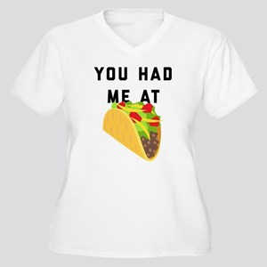 You Had Me At Tac Women's Plus Size V-Neck T-Shirt
