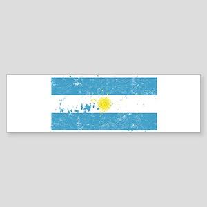 Argentine Flag (Punk) Bumper Sticker