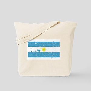 Argentine Flag (Punk) Tote Bag
