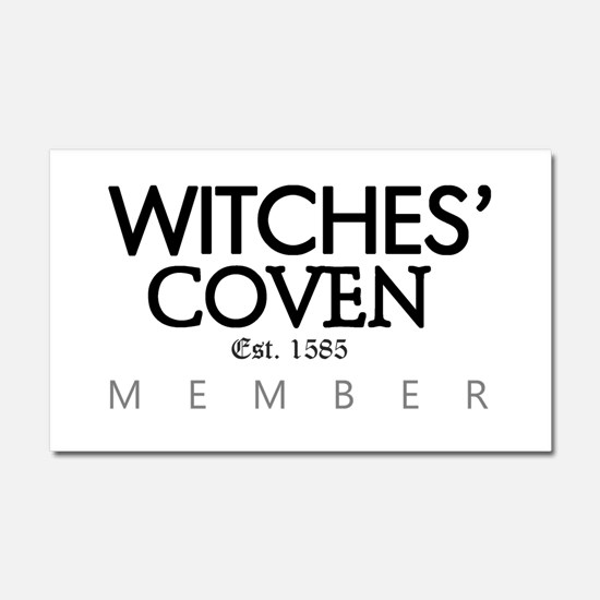 'Witches' Coven' Car Magnet 20 x 12