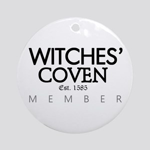 'Witches' Coven' Ornament (Round)
