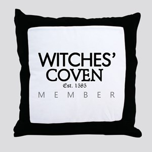 'Witches' Coven' Throw Pillow
