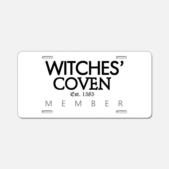 'Witches' Coven' Aluminum License Plate