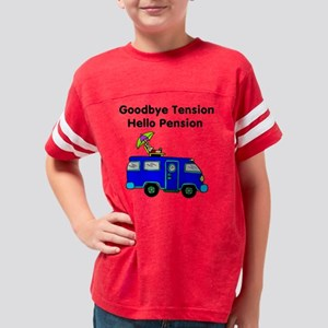 Retirement Youth Football Shirt