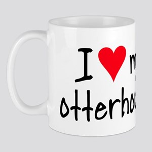 I LOVE MY Otterhound Mug