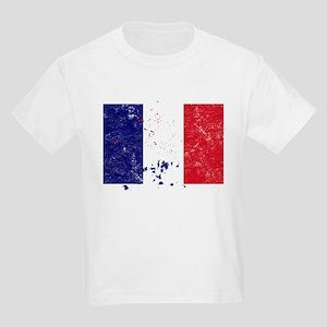 French Flag (Punk) Kids T-Shirt