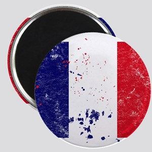 French Flag (Punk) Magnet
