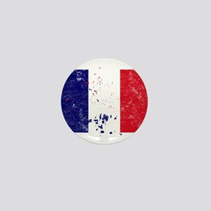 French Flag (Punk) Mini Button