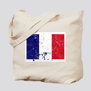 French Flag (Punk) Tote Bag