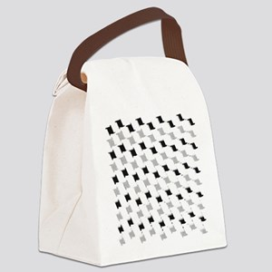 fashion patterns Canvas Lunch Bag