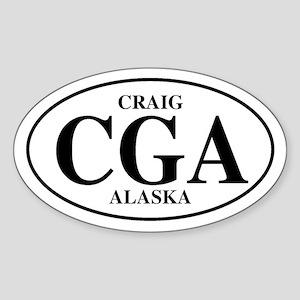 Craig Oval Sticker