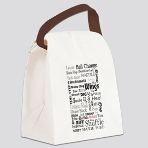 Tap steps collage Canvas Lunch Bag