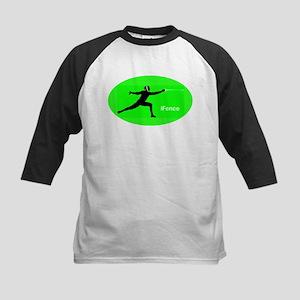 iFence green - Kids Baseball Jersey