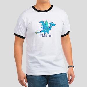 Cute Blue Dragon T-Shirt