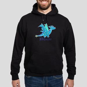 Cute Blue Dragon Hoodie