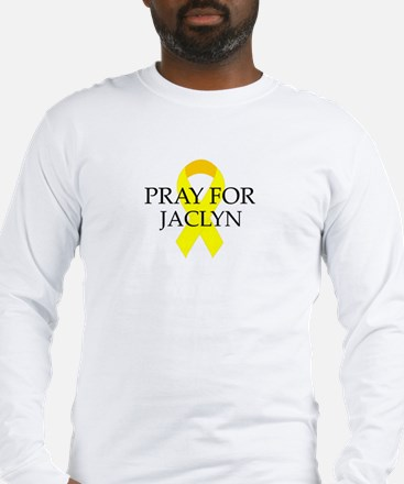 Pray for Jaclyn Long Sleeve T-Shirt