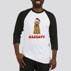 Naughty Goldendoodle Baseball Jersey