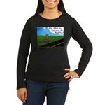 Why didn't the egg 1rst Women's Long Sleeve Dark T