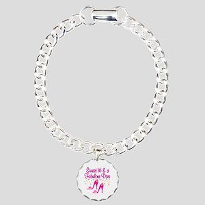 16 YR OLD DIVA Charm Bracelet, One Charm