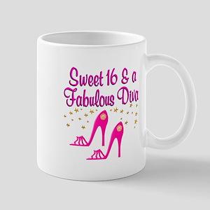 16 YR OLD DIVA Mug