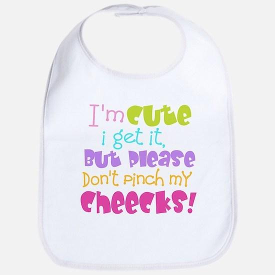 I'm Cute, I get It Bib