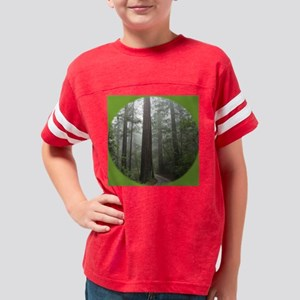 redwoodfog10by10 Youth Football Shirt