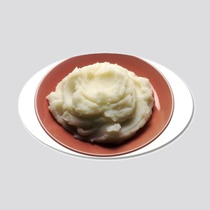 Mashed Potatoes Wall Decal