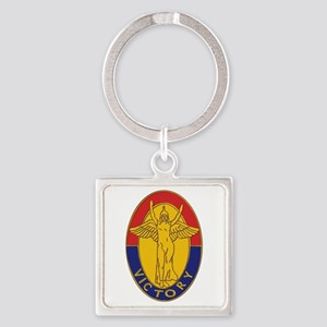 DUI - 1st Infantry Division Square Keychain