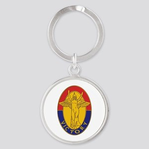 DUI - 1st Infantry Division Round Keychain