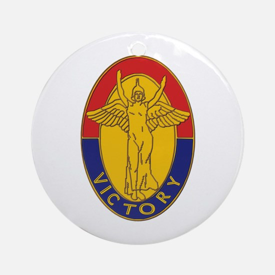 DUI - 1st Infantry Division Ornament (Round)
